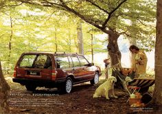 Volvo 940 Tack wagon - brochure Japan