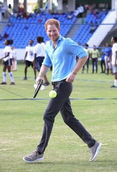 Prince Harry Dancing With Kids in the Caribbean 2016   POPSUGAR Celebrity