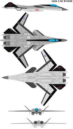 EASA X-02 Wyvern by bagera3005 on deviantART
