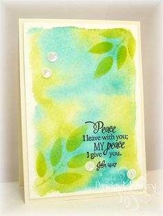 CAS286 His Peace by bfinlay - Cards and Paper Crafts at Splitcoaststampers