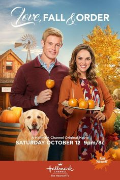 "Its a Wonderful Movie – Your Guide to Family and Christmas Movies on TV: ? Love, Fall & Order – a Hallmark Channel Original ""Fall Harvest"" Movie starring Erin Cahill, Trevor Donovan & Gregory Harrison! Hallmark Channel Hallmark Channel SEE HERE: Hallmark Channel, Películas Hallmark, Disney Channel, Films Hallmark, Trevor Donovan, Movies 2019, Hd Movies, Movie Tv, Movies Free"