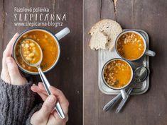 Zahřívací fazolová polévka pro chlapy Soup Recipes, Lunch, Dinner, Ethnic Recipes, Food, Soups, Dining, Eat Lunch, Food Dinners