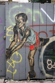 Street Art Par Swoon - San Francisco (CA)