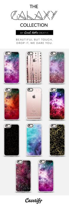 galaxy and space inspired cell phone cases