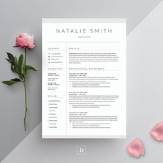 Word Resume & Cover Letter Template - Resumes - 1