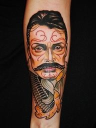 1000 images about tattoos on pinterest pancho villa for Pancho villa tattoo