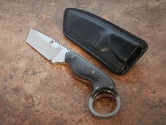 Graham Custom Ringed Tanto | Knives and blank steel and Axes ...