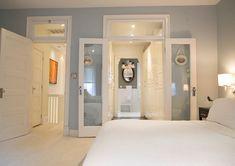 Master bedroom closet bathroom wall colors 33 ideas for 2019 Bedroom Closet Doors, Bedroom With Ensuite, Master Closet, Master Bathroom, Bathroom Closet, Closet Wall, Closet Storage, Teen Bedroom, Modern Bedroom