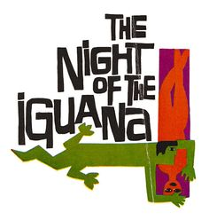 Tennessee Williams / The Night of the Iguana / Cover Design By Saul Bass / 1964 Saul Bass, Vintage Movies, Vintage Books, Ode An Die Freude, Night Of The Iguana, Chinese Book, Tennessee Williams, Philosophy Quotes, Design Graphique
