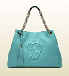 soho leather shoulder bag - LOVE the colour
