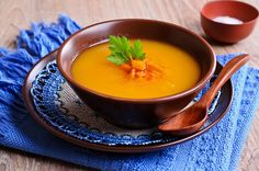 Yogic Diet: Carrot Potato Soup - Z Living Clean Eating Recipes, Lunch Recipes, Baby Food Recipes, Soup Recipes, Healthy Recipes, Carrot Potato Soup, Pumpkin Carrot Soup, Ayurvedic Recipes, Healthy Toddler Meals