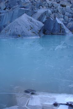 Glaciar Laguna, Tolima (Región Andina) , Colombia.