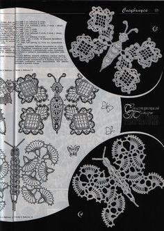 "Photo from album ""Дуплет on Yandex. Crochet Angels, Crochet Birds, Crochet Motifs, Crochet Diagram, Freeform Crochet, Crochet Stitches, Russian Crochet, Irish Crochet, Crochet Needles"