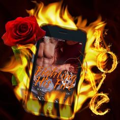 Fiery Love between Dante and Ashton! Fighting His Fire (Rock Gods #6) by Ann Lister is coming on the 28th!