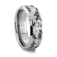 Tungsten World Has Great Camo Rings If You Have A Cur Military Man Or Veteran My Husband Absolutely Loves His