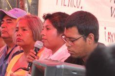 """""""No es un delito buscar a un hijo"""", madres de Ayotzinapa en Chiapas / Vamos caminando con pies de lucha"""