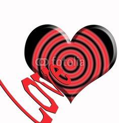 Amor haciendo centro en el corazón