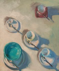 """""""Vessels Three"""" by #HenryStinson oil on Canvas 36"""" x 30"""""""