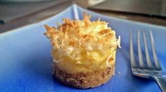 With pecans in the crust, sweet flavor in the creamy pineapple cheesecake layer, and the coconut on top completing the deliciousness... oh MY. 'Hello, lover... '  Oh my goodness, those exact words came out of my mouth when I bit into one of these little pineapple cheesecake lovelies. I love having make-ahead desserts in the fridge for when we have company, leaving me more time to just hang with guests. I also like hiding some in the back of the fridge for when we DON'T have comp...