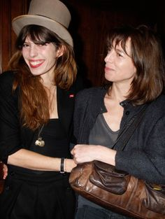 Lou Doillon et Kate Barry Charlotte Gainsbourg, Serge Gainsbourg, Lou Doillon, Jane Birkin, Kate Barry, Lee Cooper, Family Affair, Female Photographers, Fun To Be One