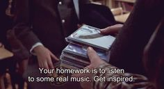 The best thing a teacher ever said...Jack Black on School of Rock