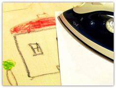 Väriliiduilla koristeltu kangaskassi | Juhlamielellä