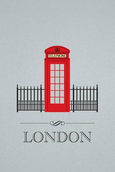 London  i'd rather a blue police box personally