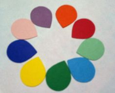 30 Piece Assorted Solid Color Sticker Tear by creativedesigncorner, $5.25