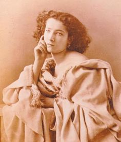 "Sarah Bernhardt.... She was the illegitimate daughter and niece of Jewish prostitutes but in the course of a 60-year career ""the Divine Sarah"" Bernhardt (1844-1923) established herself as the world's premier tragedienne and was the first major stage actress to star in films."
