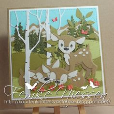 kaartenknutsels van femke: Oh deer. Xmas Cards To Make, Christmas Cards, Kids Cards, Baby Cards, Aliexpress Dies Cards, Marianne Design Cards, Cricut Cards, Oh Deer, Animal Cards