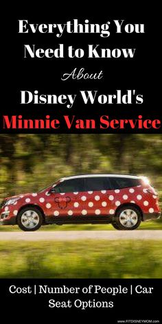 Disney World Tips and Tricks: Everything you need to know about Disney World's Minnie Van Service.