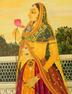 Rajputana- Art Treasure of India: -Rajasthan is the land of wonderful legends of romance and bravery. https://www.facebook.com/nikhaarfashions