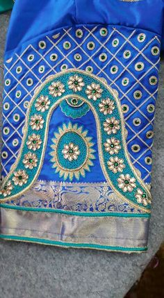 Peacock Blouse Designs, Wedding Saree Blouse Designs, Half Saree Designs, Simple Blouse Designs, Silk Saree Blouse Designs, Dress Neck Designs, Sleeve Designs, Hand Work Blouse Design, Maggam Work Designs