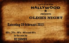 A collection of oldies and young party music in the mix @ Hallywood