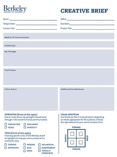 How to Define Your Business + Free Creative Brief Worksheet PDF ...