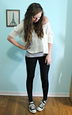 like it! but not crazy about the leggings for pants! Wear some jeans, girls!  ~ reagancupcake