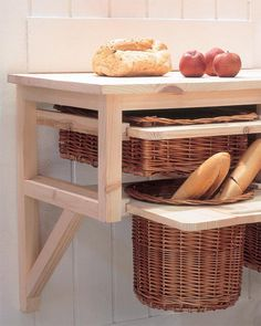 Find This Pin And More On Make It Good Ideas 43 Ideas To Organize Wicker Basket Storage