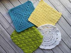 Ravelry: 4 Crocheted Washcloths pattern by Amy Dorr