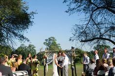 Rustic Yellow Themed Barn Wedding|Photographer:  LeAnna Theresa Photography