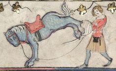 Bodleian Library MS. Bodl. 264, The Romance of Alexander in French verse, 1338-44; 96v