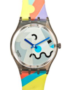 Vintage Swatch Cosmesis by Alessandro Mendini Watch. #AmericanApparel