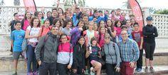 SALOBREÑA. Más de 350 escolares de 13 colegios de primaria de la Costa Tropical, Valle de Lecrín y Alpujarra han participado esta mañana en Salobreña en el inicio de la