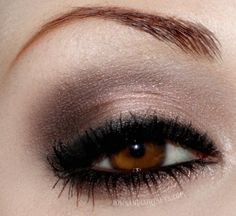 gorgeous brown eyes