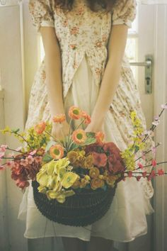 To Eva.... One day soon I will visit you in holland with a huge basket of flowers full of color and love.