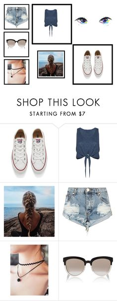 """Summer.."" by merymutapcic ❤ liked on Polyvore featuring Converse, Alice + Olivia, One Teaspoon and Christian Dior"