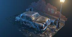 Unity 3d, Virtual World, Great Britain, Mercedes Benz, Scene, Europe, Artwork, Cars, Work Of Art