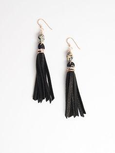 Raven & Riley Broadway Tassel Earring - Made in Denver!