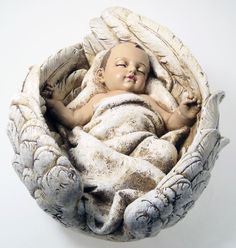 Most Beautiful Angels Cherubs | Large Resin Angel Statue The Baby Jesus. :)