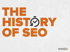 The History of SEO by HubSpot via slideshare. Crazy to think there was a time when search results were returned by humans! Marketing Software, Inbound Marketing, Marketing Digital, Online Marketing, Marketing Technology, Online Advertising, Search Engine Marketing, Seo Training, Marketing Training