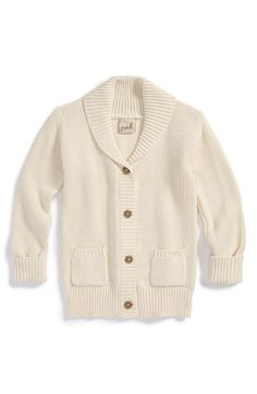 Peek 'Petra' Knit Shawl Collar Cardigan (Toddler Girls, Little Girls & Big Girls) available at #Nordstrom